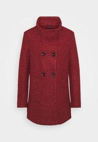 ONLY - SOPHIA - Zimní kabát - fired brick/melange - 5