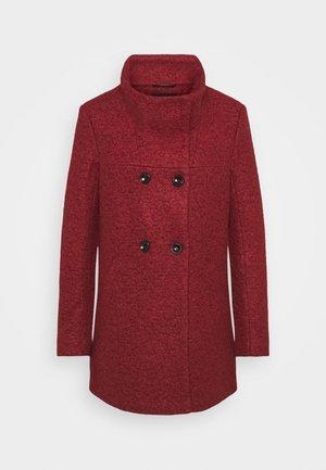 SOPHIA - Classic coat - fired brick/melange