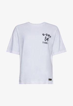 MILITARY - Print T-shirt - brilliant white