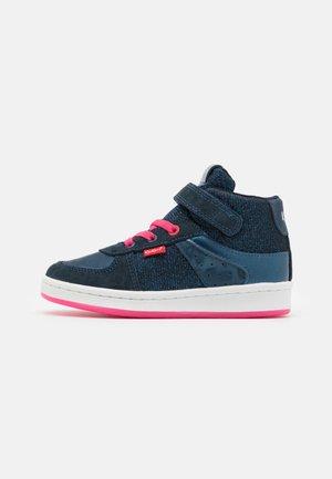 BILBON MID - Sneakers hoog - marine bleu glitter