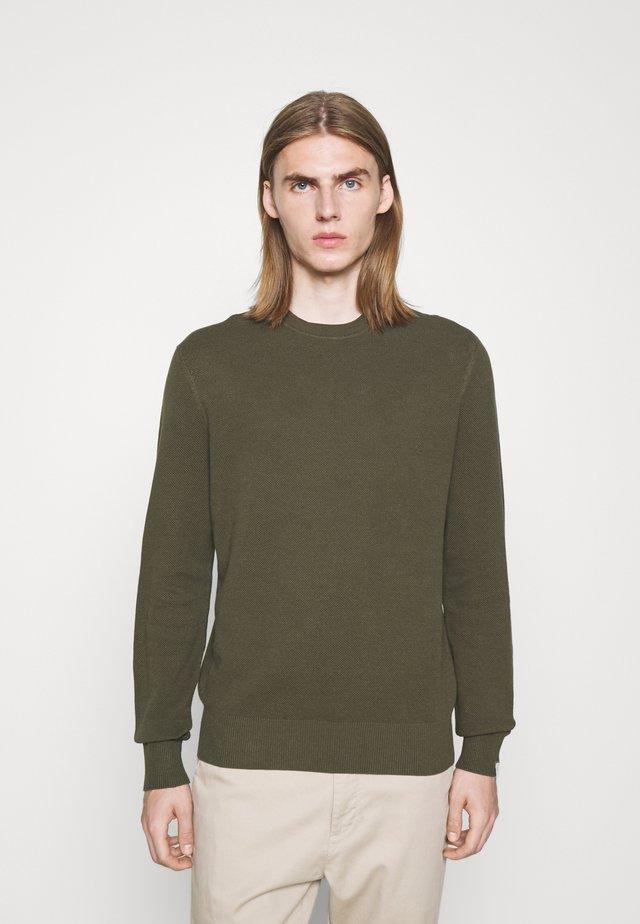 CREW - Pullover - olive