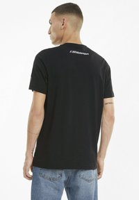 Puma - BMW M MOTORSPORT STREET VINTAGE - T-shirt print - puma black - 2