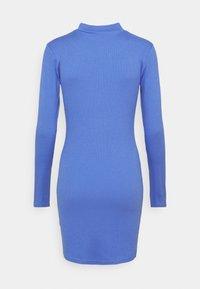 SIKSILK - VELOCITY BODYCON DRESS - Vestido de punto - blue - 1