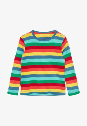 EVERYTHING RAINBOW LONG SLEEVE  - Langærmede T-shirts - steely blue