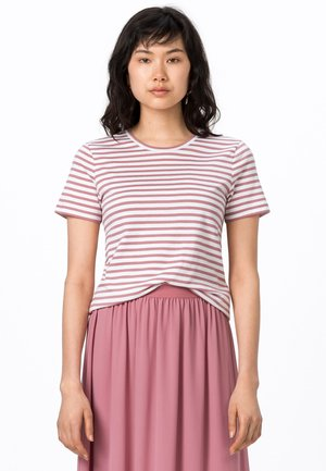 Print T-shirt - rosenquarz