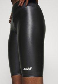 MSGM - SHORTS - Leggings - black - 5