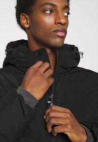 TOM TAILOR DENIM - HEAVY PUFFER JACKET - Winter jacket - black - 5