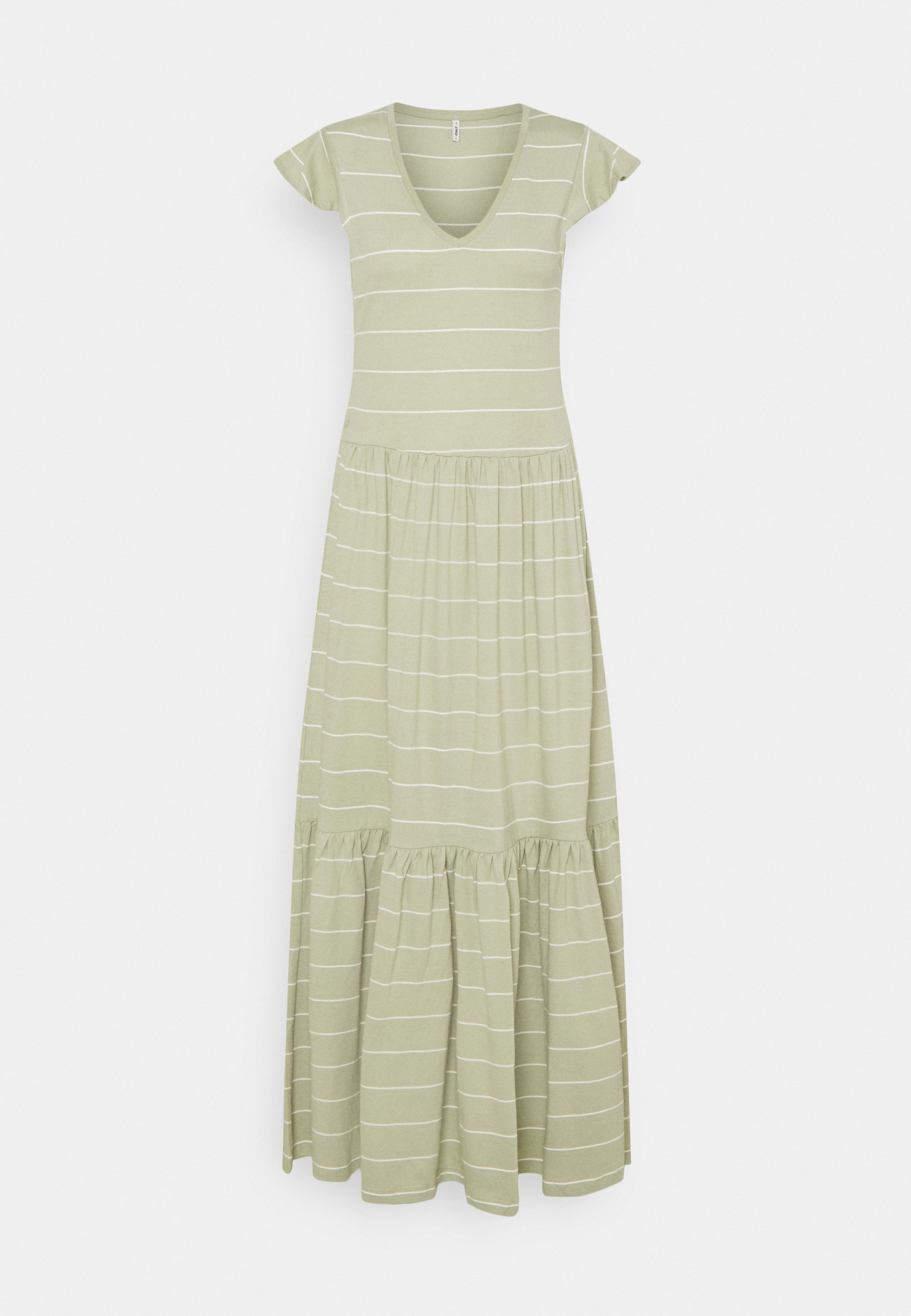 Women ONLMAY LIFE FRILL CALF DRESS - Maxi dress