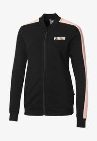 Puma - Hoodie met rits - puma black - 0