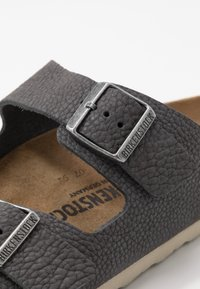Birkenstock - ARIZONA - Slippers - steer soft gray - 5