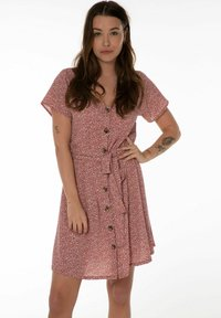 Protest - UNNA  - Day dress - terracota - 0
