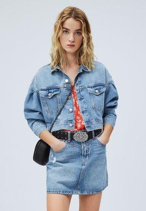 RIDGE - Veste en jean - blue