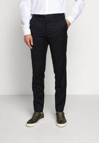 HUGO - HARTLEY - Oblekové kalhoty - dark blue - 0