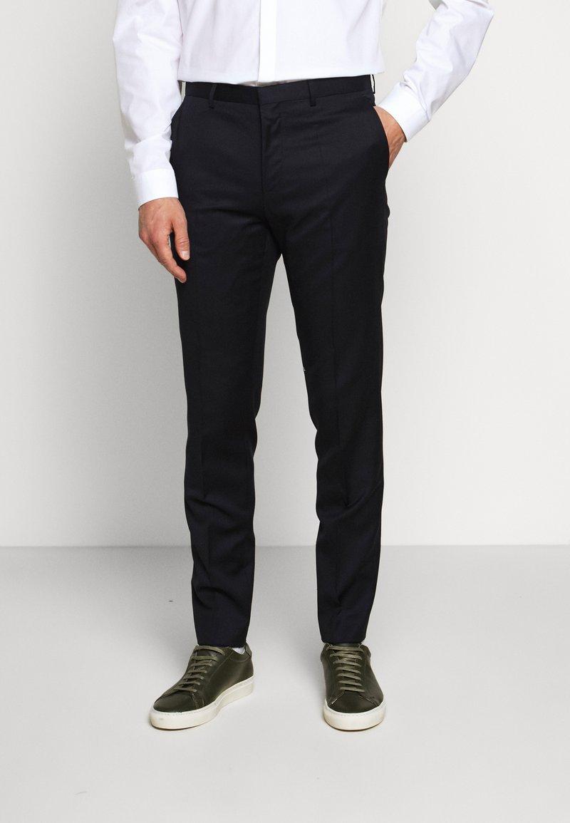 HUGO - HARTLEY - Oblekové kalhoty - dark blue