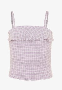 Abercrombie & Fitch - SMOCKED MATCH  - Top - lilac - 0