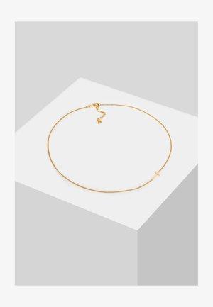 CHOKER CROSS BASIC - Necklace - gold