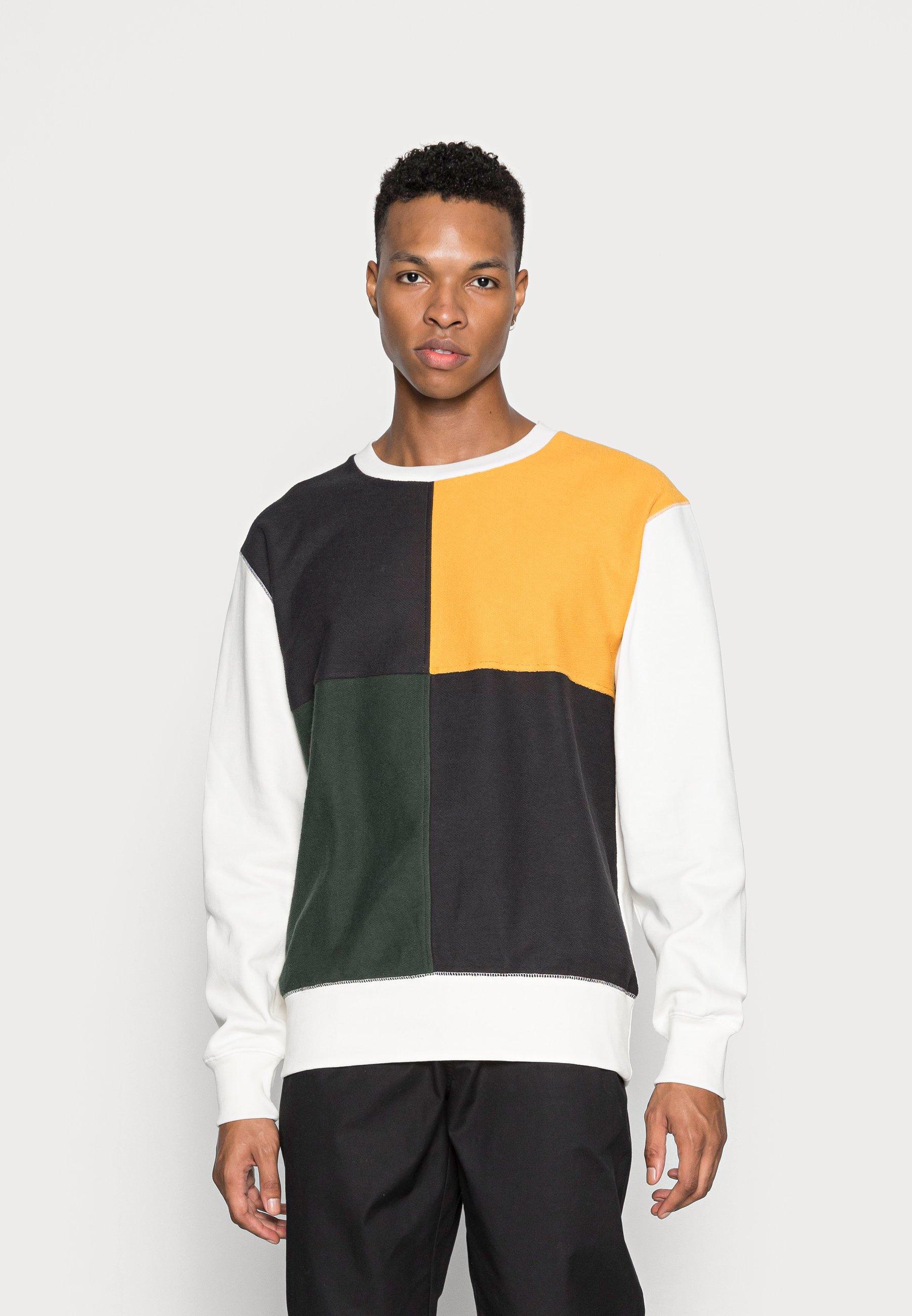 Men TRISTAN COLOUR BLOCK - Sweatshirt