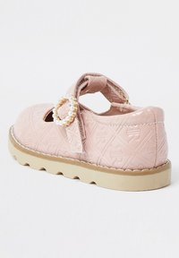 River Island - MONOGRAM - Touch-strap shoes - pink - 2