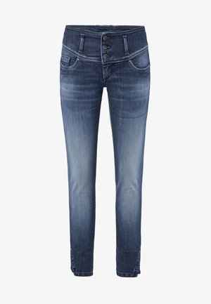 PUSH UP - Slim fit jeans - blau_8504