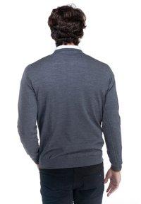 Harmont & Blaine - PARICOLLO TOTAL EASY CARE - Sweatshirt - grigio scuro - 2
