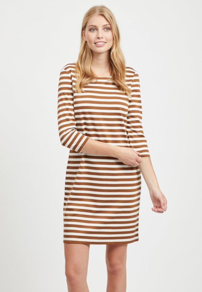 Vila - VITINNY - Day dress - toffee