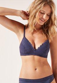 Underwired bra - blue