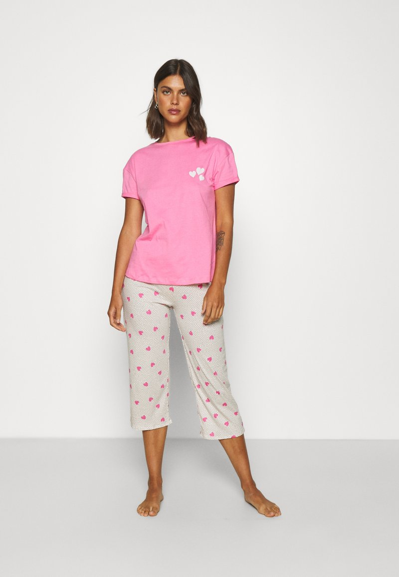 Marks & Spencer London - HEART  - Pijama - pink mix