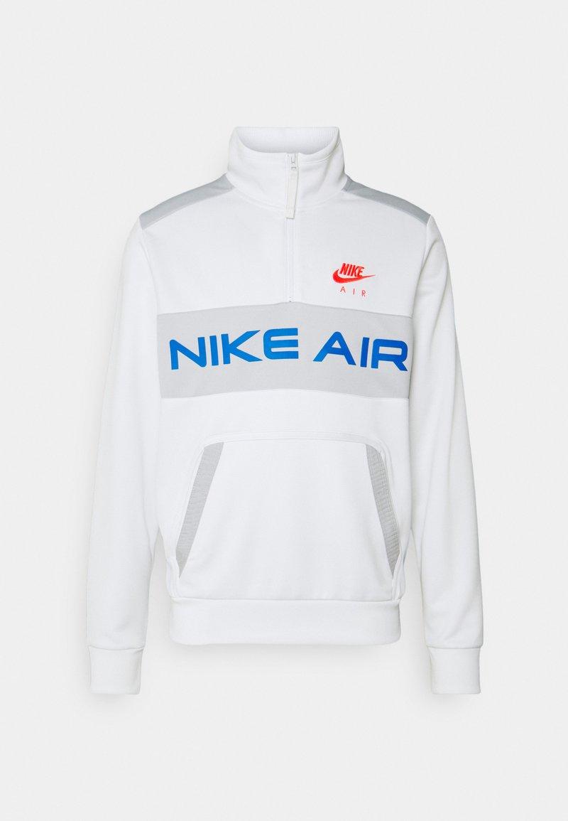 Nike Sportswear - Sweatshirt - summit white/grey fog/signal blue/infrared