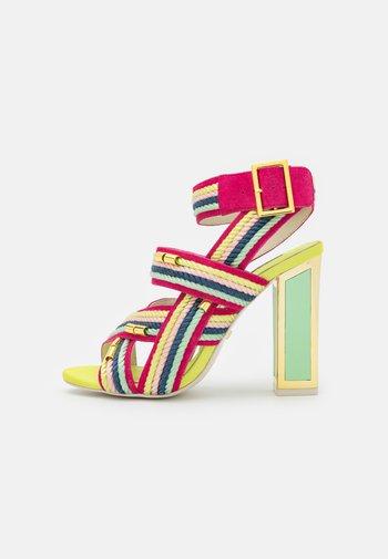 ARABELLA - Sandály na vysokém podpatku - multibrights
