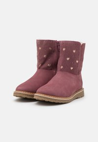 Friboo - LEATHER - Boots - pink - 1