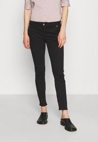 Dondup - PANTALONE MARGOT - Jeans Skinny Fit - black - 0