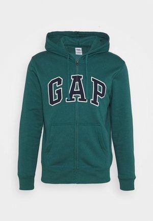 ARCH - Zip-up hoodie - teal
