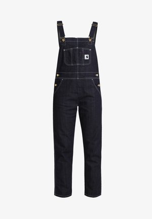 OVERALL - Dungarees - dark stone washed