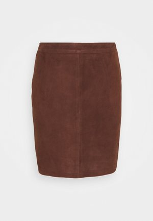 OBJCHLOE  - Pencil skirt - chicory coffee