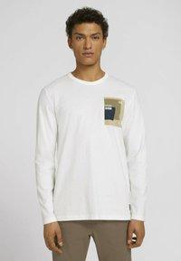 TOM TAILOR DENIM - Top - soft light beige - 1