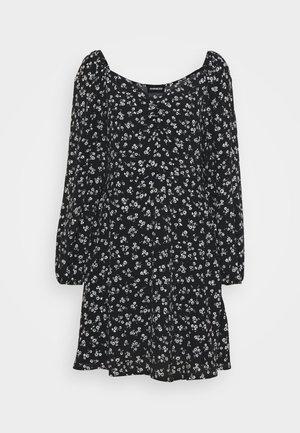 Day dress - black/beige