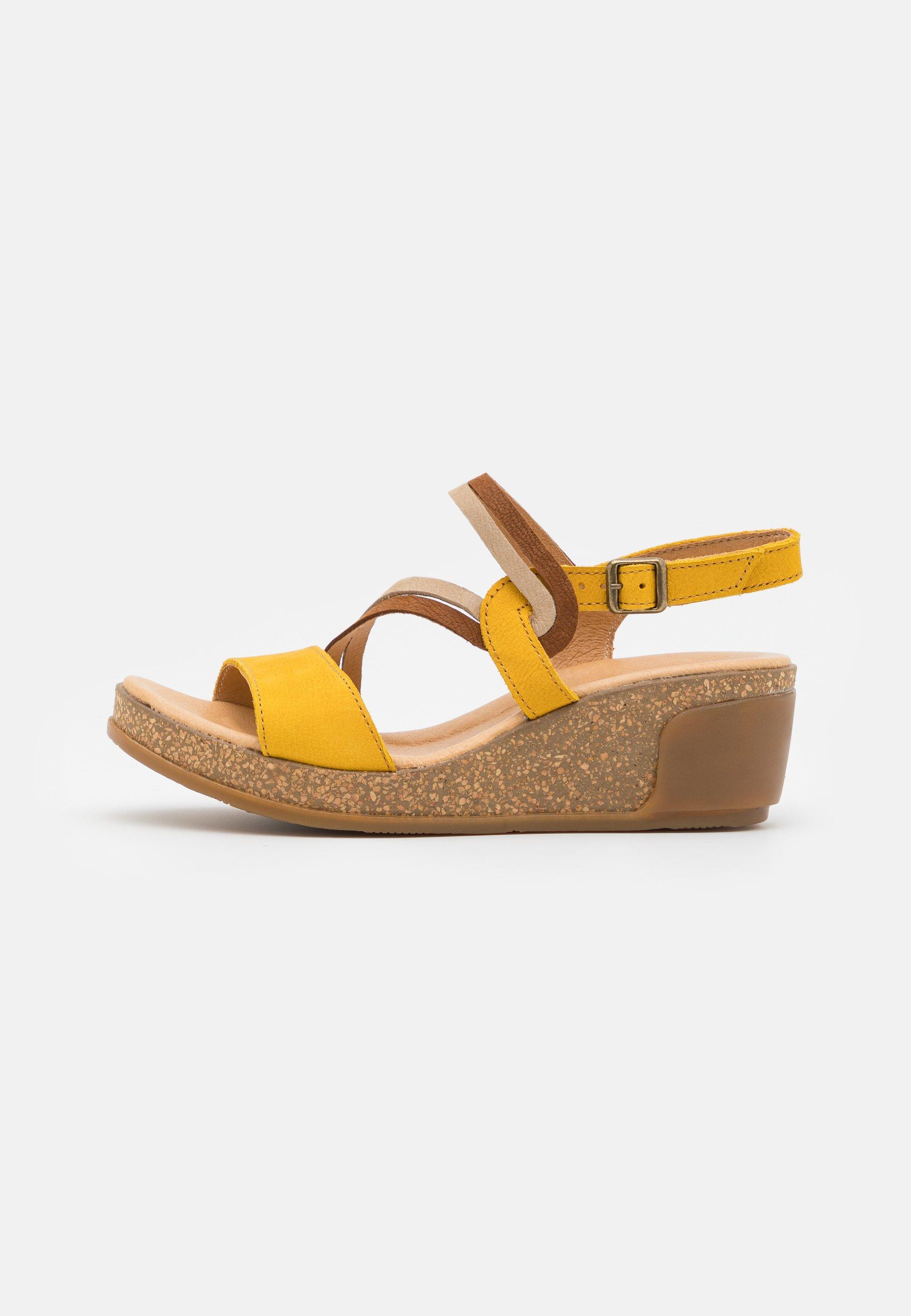 Women LEAVES - Platform sandals