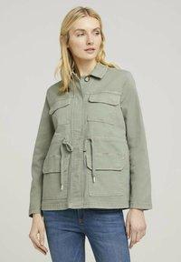 TOM TAILOR - Summer jacket - prairie grass green - 0