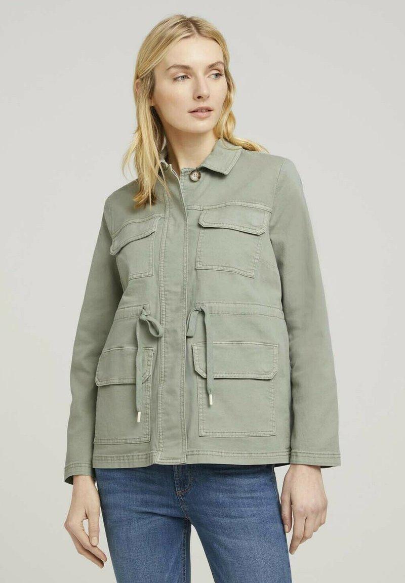 TOM TAILOR - Summer jacket - prairie grass green