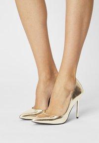Even&Odd - High heels - gold - 0