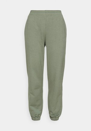 REGULAR FIT JOGGERS  - Tracksuit bottoms - green