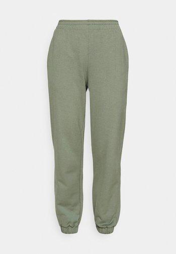 REGULAR FIT JOGGERS  - Pantalon de survêtement - green
