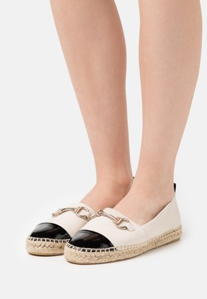 Espadrilles - black/white