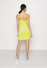 Missguided - EMBELLISHED NECK BODYCON DRESS - Cocktail dress / Party dress - lime - 2