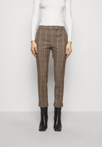 MAX&Co. - DINTORNO - Trousers - beige pattern - 0