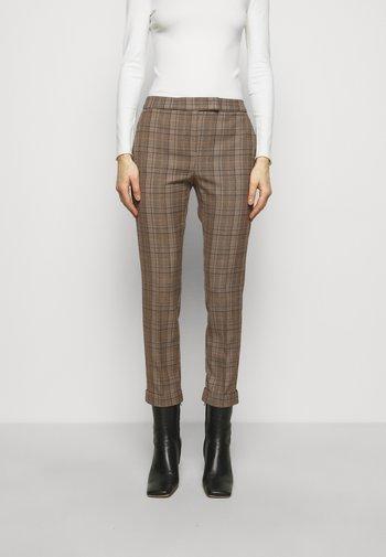 DINTORNO - Pantalon classique - beige pattern
