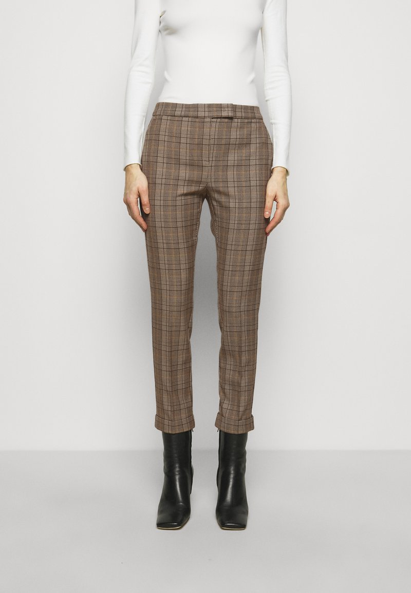 MAX&Co. - DINTORNO - Trousers - beige pattern