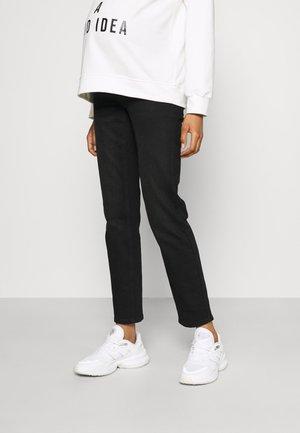 NORAH - Jeans straight leg - black denim