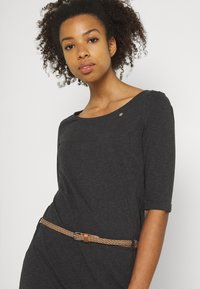 Ragwear - TAMILA  - Žerzejové šaty - dark grey - 3