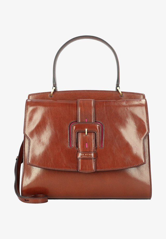 Handbag - marrone-rosamagenta
